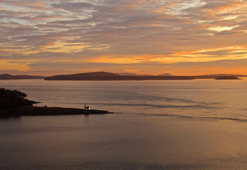 Lighthouse At Sunset Mayas Images